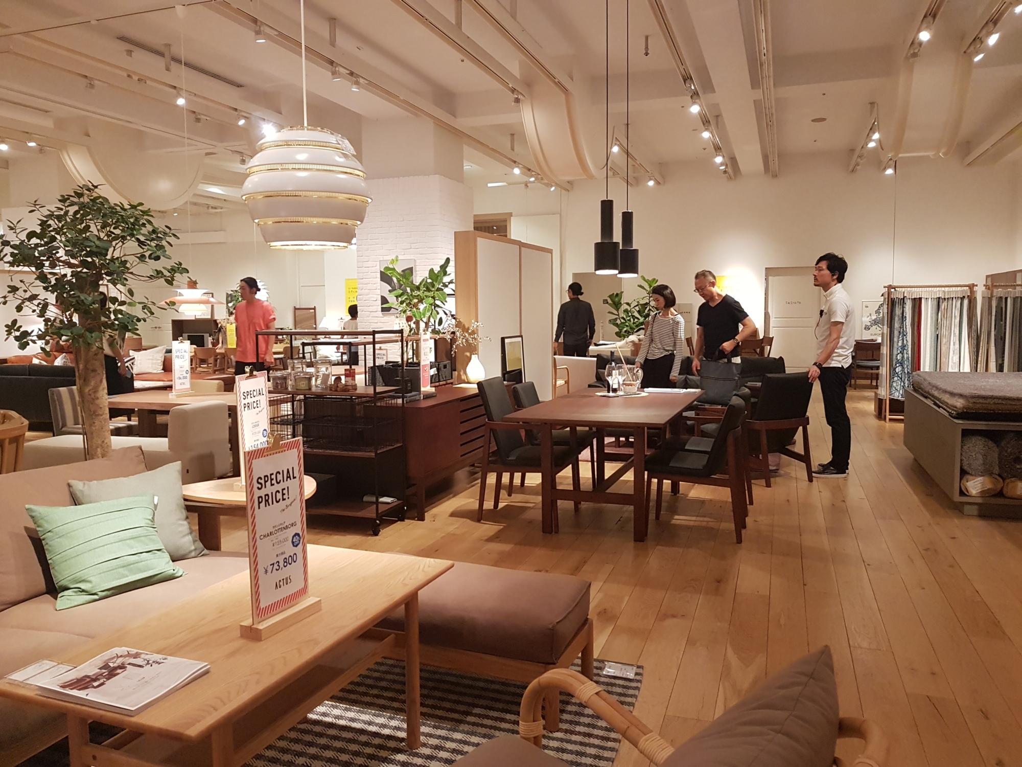 5 Grands Magasins De Meubles A Tokyo Tanoshi Tokyo